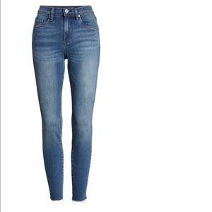 Blank NYC Raw Hem Skinny Jeans